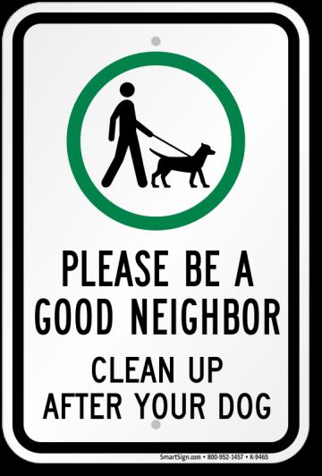 pickup sign